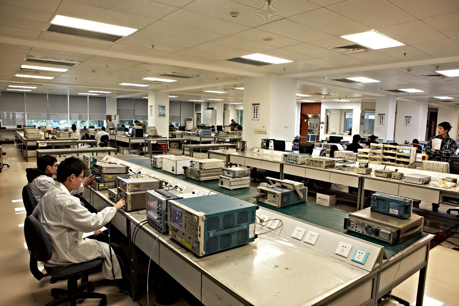 赛宝计量检测中心实验室